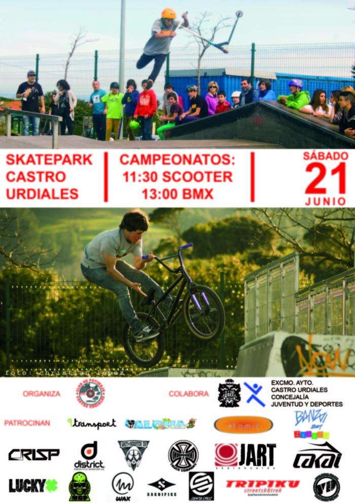 CAMPEONATO DE SCOOTER, SKATE & BMX EN CASTRO URDIALES