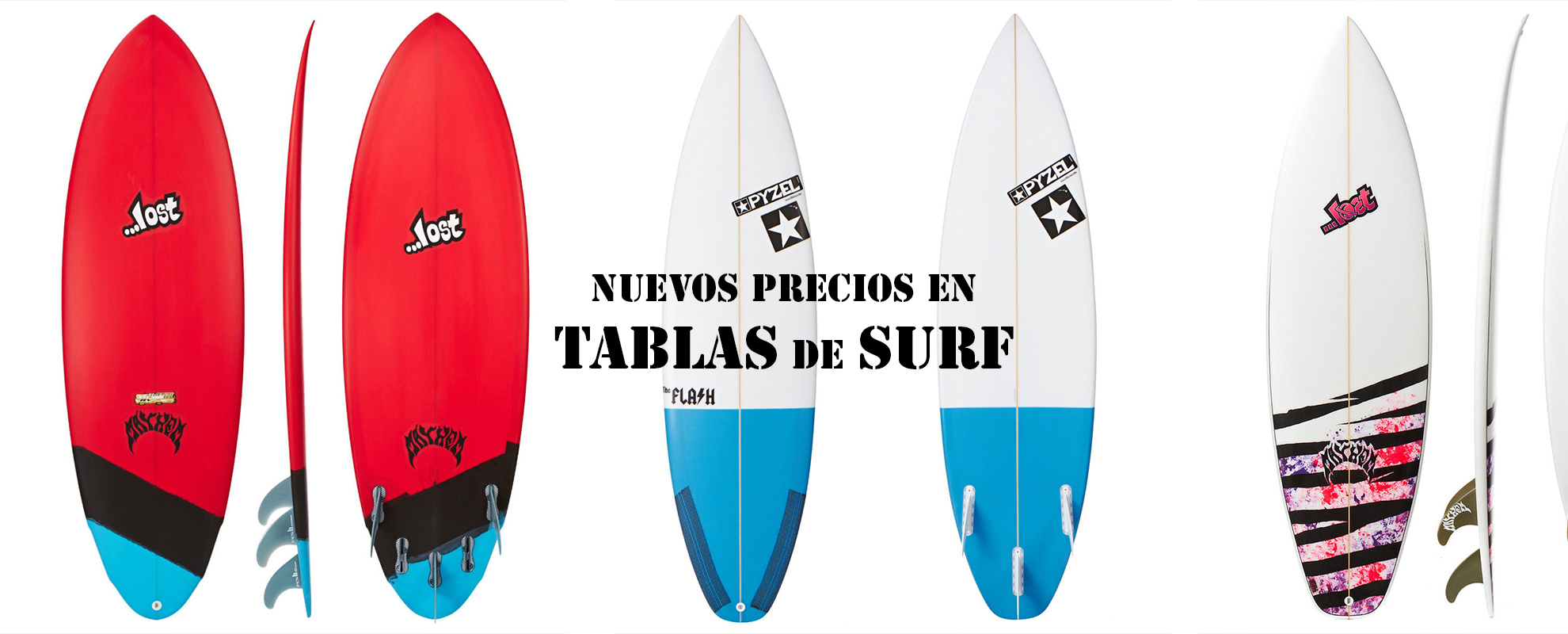 Equipos de Surf